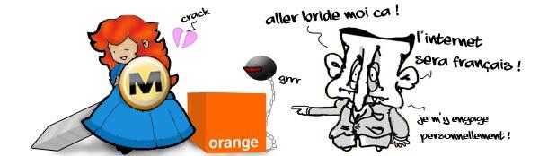 La Patate Chaude, Orange Cogent le choc des titans