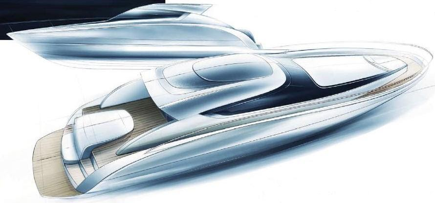 Poweryacht Mag Global Informative Motor Yacht Page Project Bruno Abbate Primatist B62 Aerotop