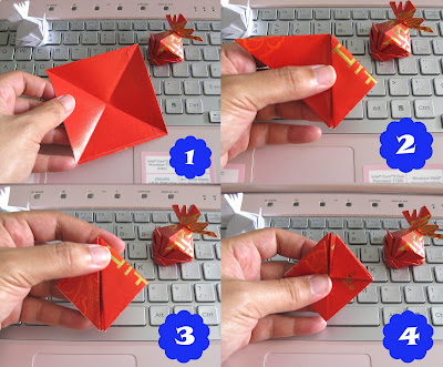 Coco thinking out loud ang pao goldfish for Ang pao origami