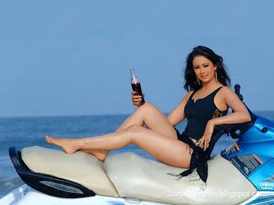 Preeti Jhangiani Photo Gallery navel show