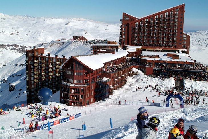 Snowboard International Competition at Valle Nevado Resort