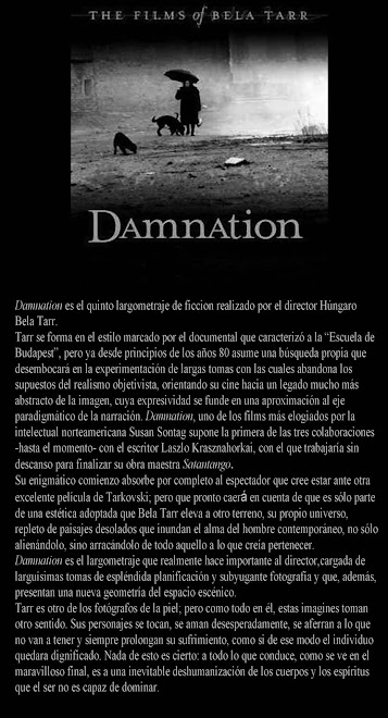 "Film screening ""Damnation"""