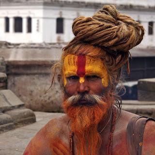 Fashionable Nepal man