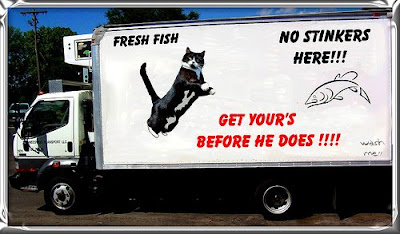 Fresh fish advertising