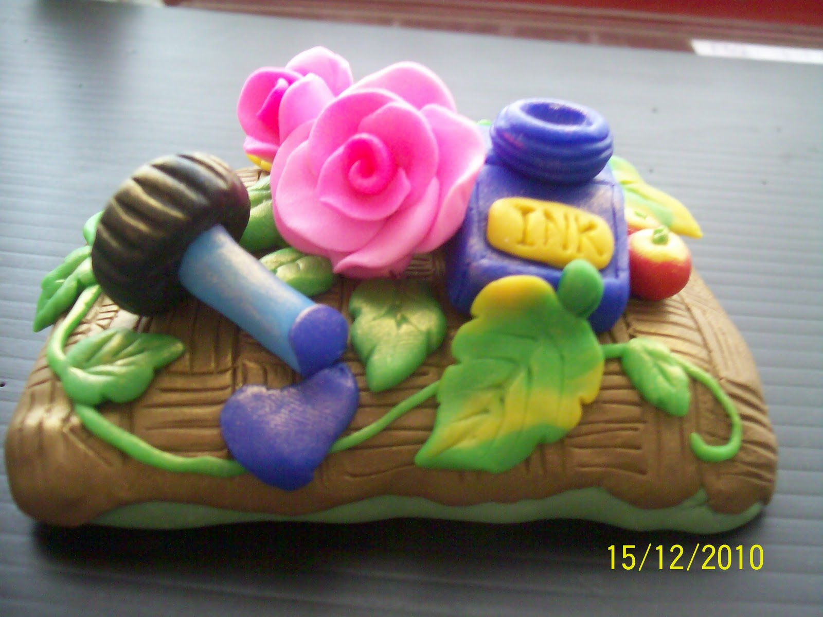 Claystationyong product make with polymer clay for Clay mural making