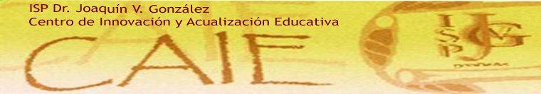 CAIE del ISP Dr. JOAQUÍN  V. GONZÁLEZ
