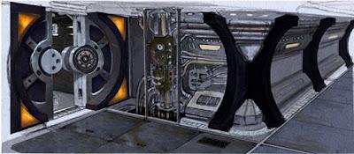 Stargate Universe Spaceship