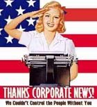 Corporate Controlled News Media