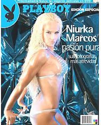 Desnudo De Niurka Marcos. Niurka Marcos en Playboy