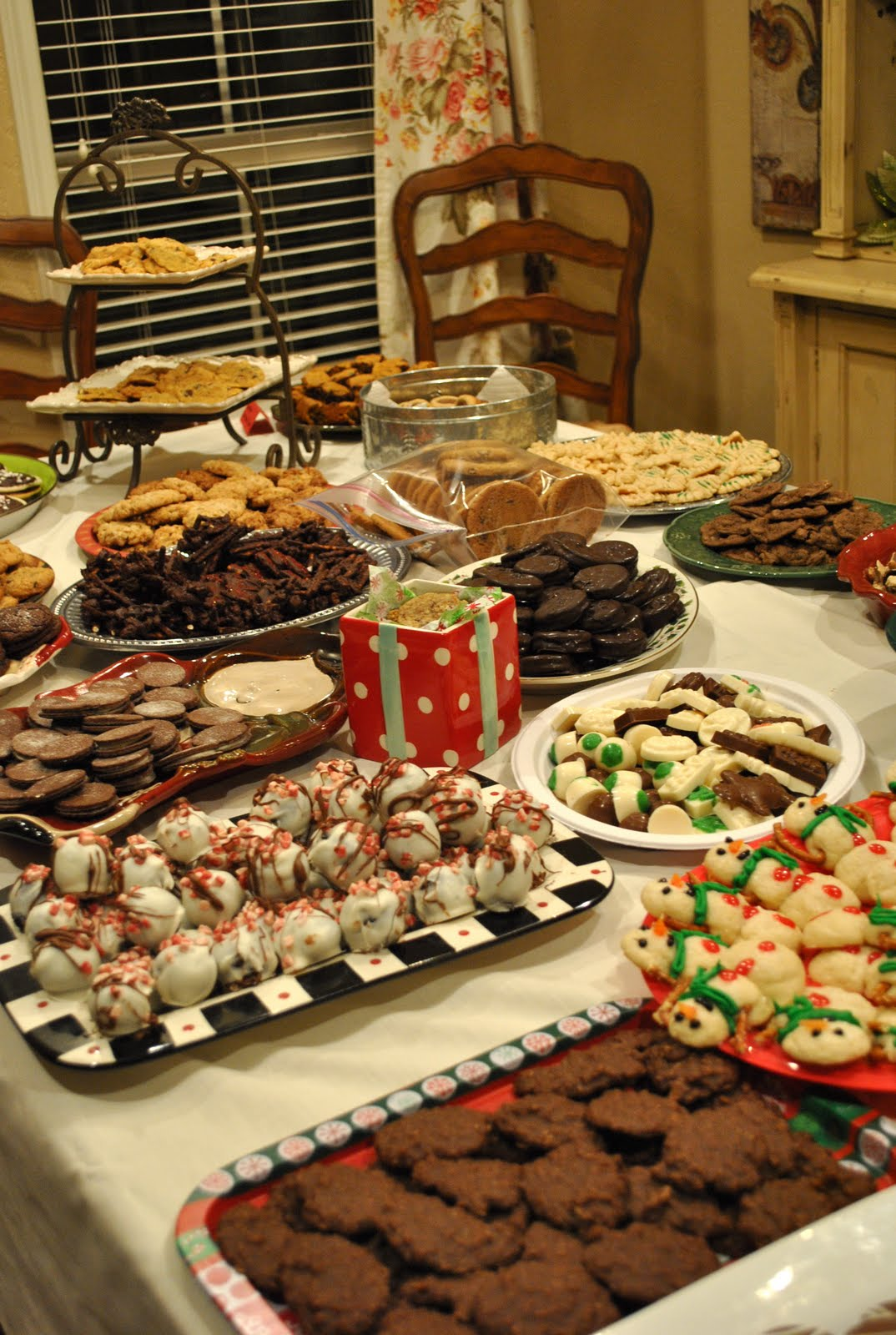That village house cookie exchange party