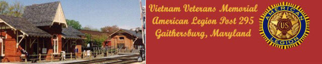 Vietnam Veterans Memorial American Legion Post 295