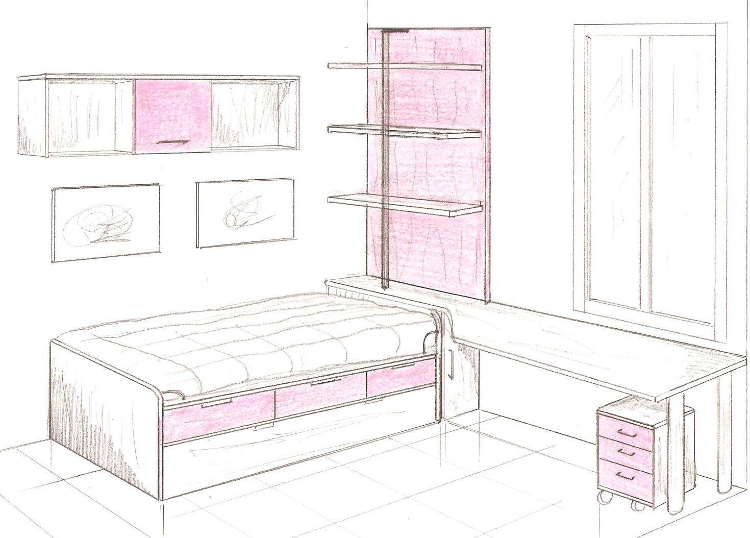 Habitacion a medida stunning fabrica de muebles en for Muebles juveniles zona sur