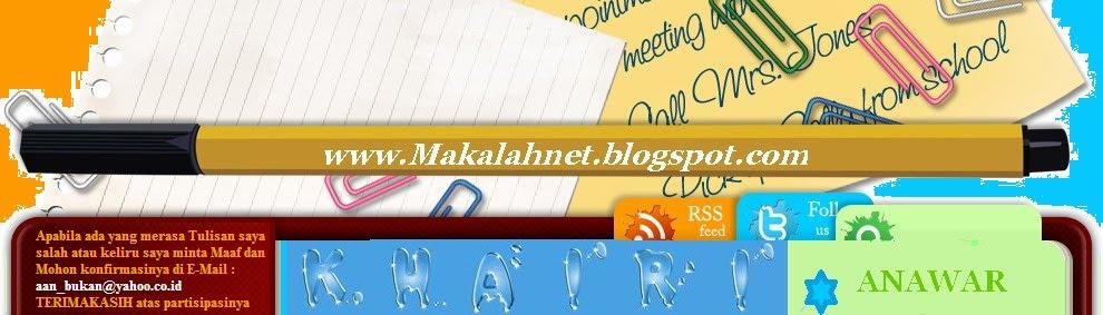 MAKALAH KHAIRIL ANWAR