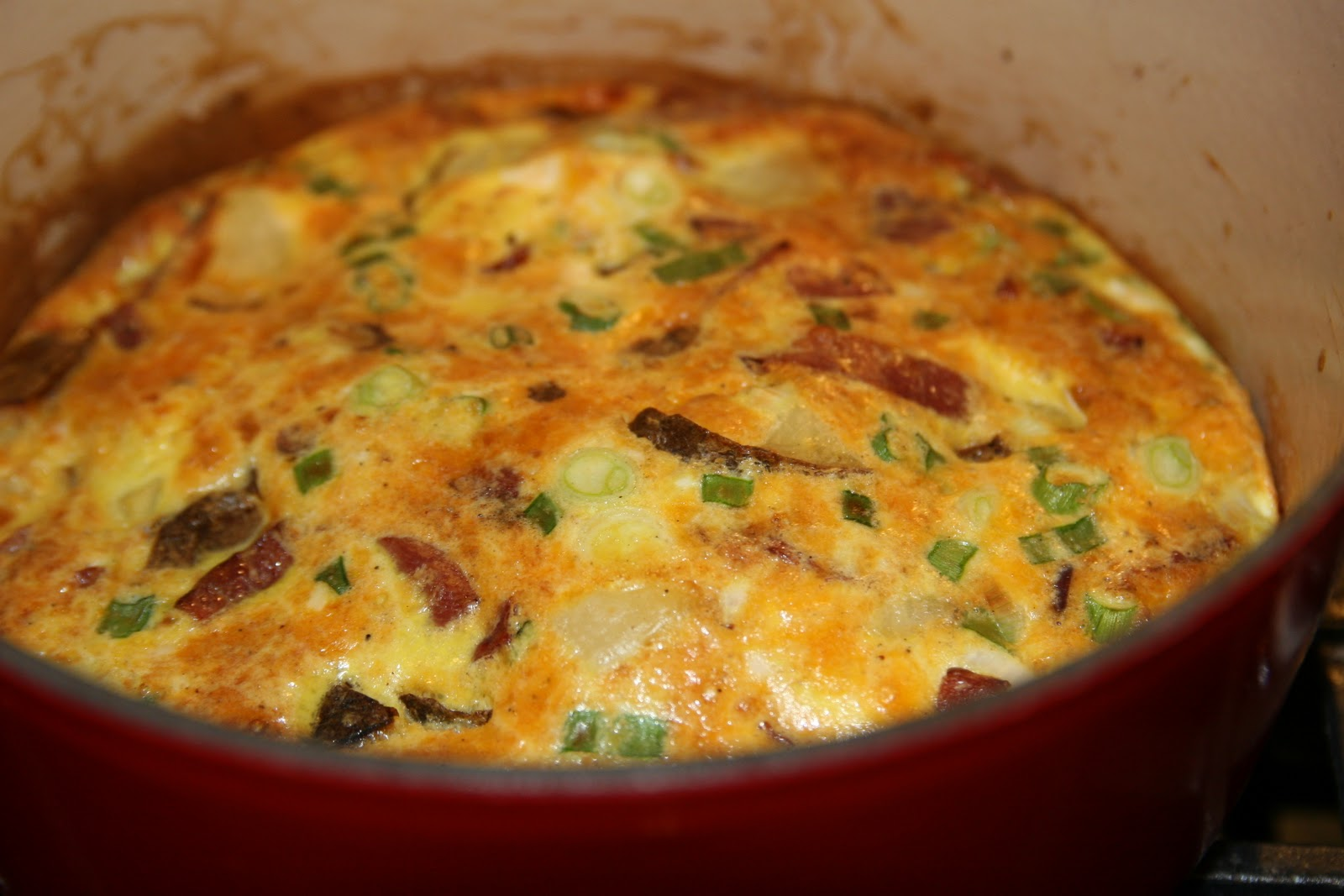 Haystacks & Champagne: For Breakfast or Dinner: Baked Potato Frittata
