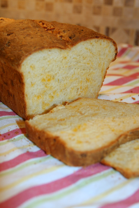 Haystacks & Champagne: Cheddar and Chilies Bread--NO Knead ...
