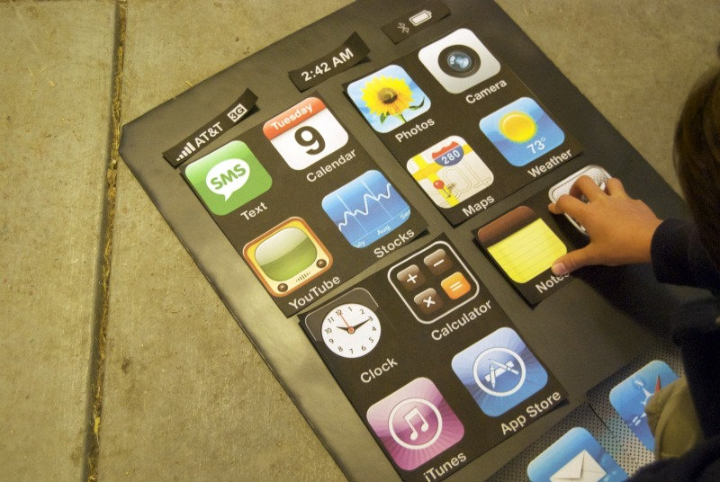 iphone costume. tuesday, october 26, 2010 iphone costume