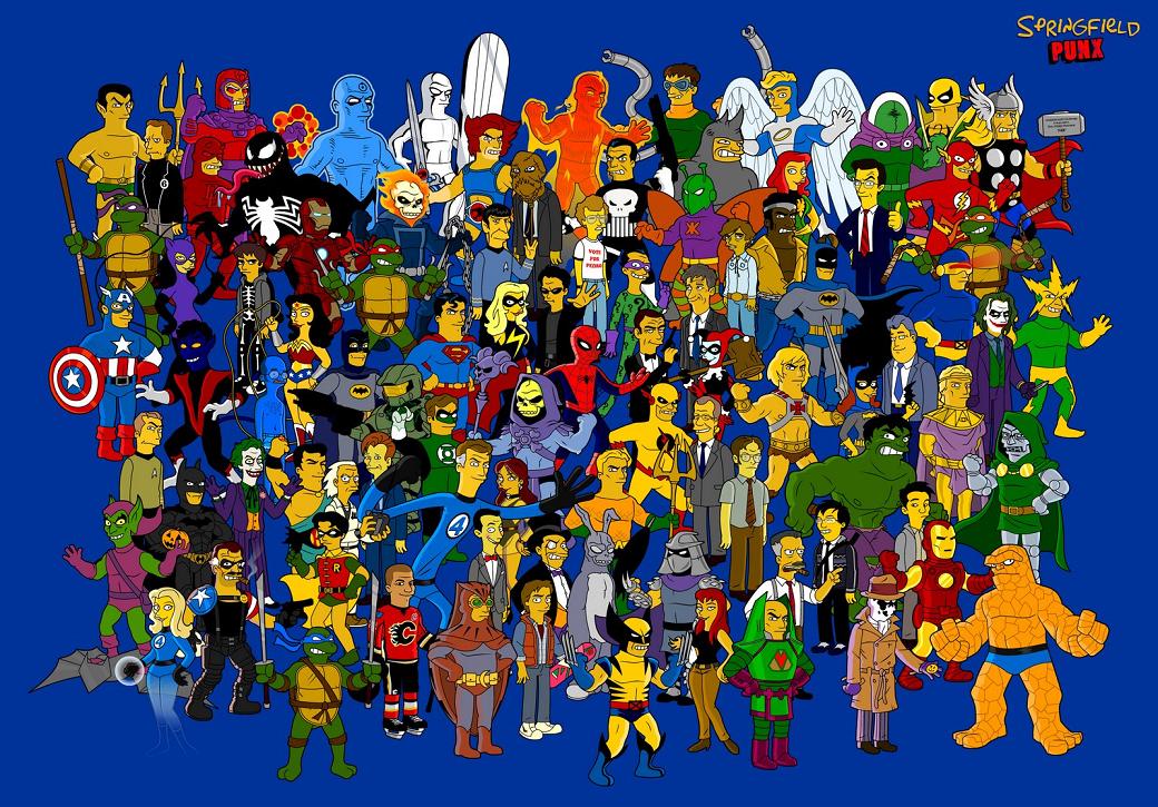 comic book wallpaper. take on comic book fan-art