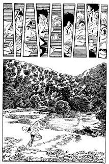 A page from Osamu Tezuka's Ode to Kirihito