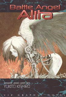 Battle Angel Alita, volume 1 cover