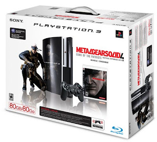 Metal Gear Solid 4 Playstation 3 bundle