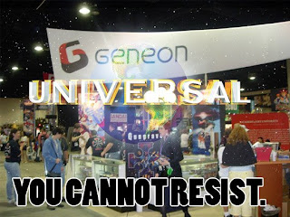 Geneon gives in to the might of Universal