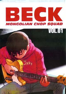 Koyuki hits the strings for some guitar practice