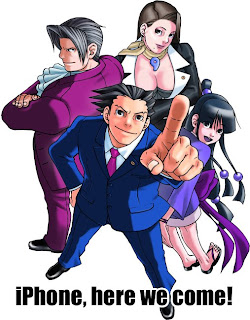 The Phoenix Wright series is on its way to iPhone