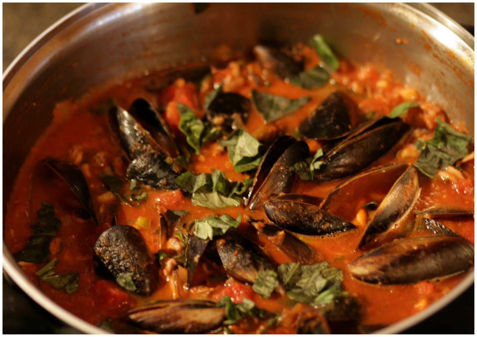 one day at a time  seafood marinara
