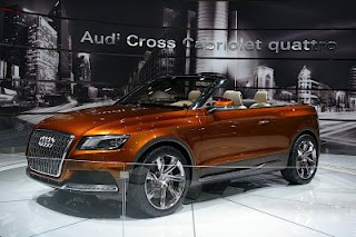 First Audi Cross Cabriolet Quattro at Los Angeles Auto Show