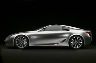The luxury Exotic Lexus car generation
