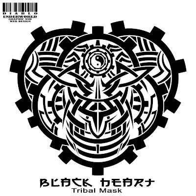 Corazones Negros - Imagenes y Diseños