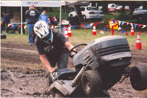 how to build a drag racing lawn mower