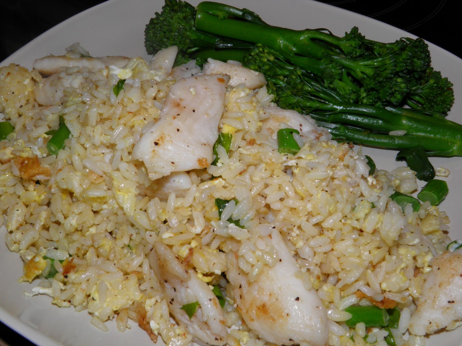 Anna 39 s cooking adventure 20101117 fish fried rice for Fish fried rice