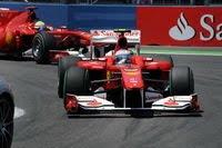 Ferrari's Fernando Alonso Valencia 2010
