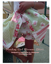 Monkey Girl Bloomer Skirt
