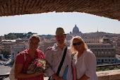 Rom-resan med familjen 2009