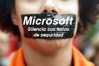 censura+de+Microsoft Microsoft mantiene una política de ocultación sobre parches y vulnerabilidades en Windows 7