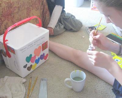 Decorating Coolers