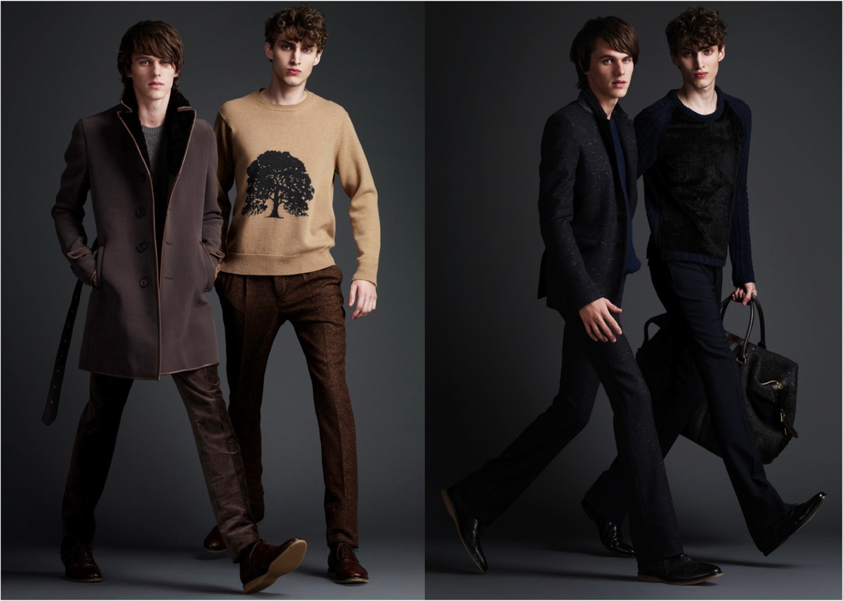burberry prorsum quilted leather jacket 2011 from left) are really growing on me, as well as the (tweed?) jacket