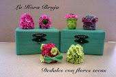 Dedales flores secas