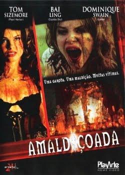 Filme Poster Amaldiçoada DVDRip RMVB Dublado