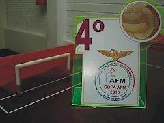 4° Lugar na 1ª Copa AFM de Futebol de Mesa - modalidade lisos - 2010