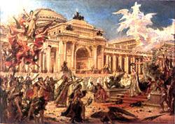 PEDRO AMÉRICO, pintor paraibano (1845,Areia-1905,Florença, Itália)