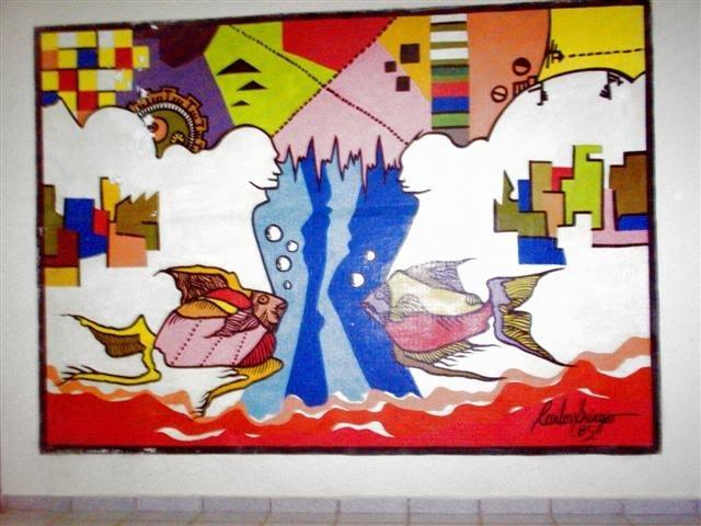 Memória virtual: Mural de Carlos Sérgio