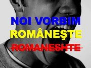 Noi scriem românește!