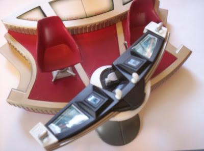 Broken navigation console