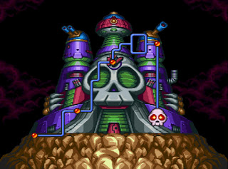 Mega Man 7 - Dr. Wily's fortress