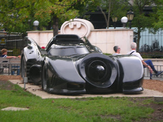 Tim Burton Batmobile