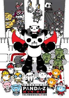 Panda-Z characters