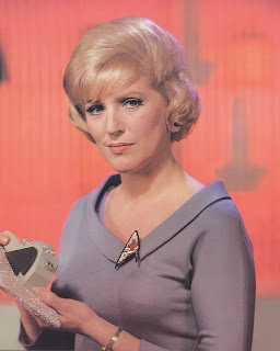 Majel Barrett Roddenberry as Nurse Christine Chapel